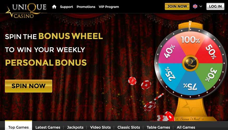 unique casino promotion
