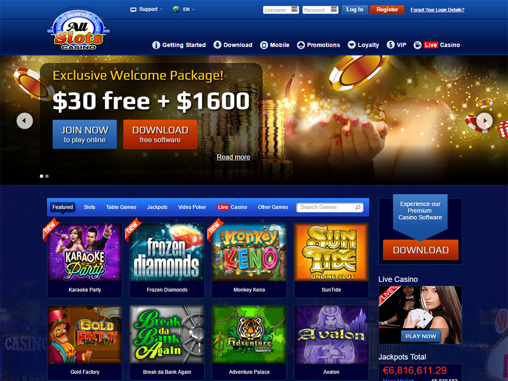 allslots casino promotion
