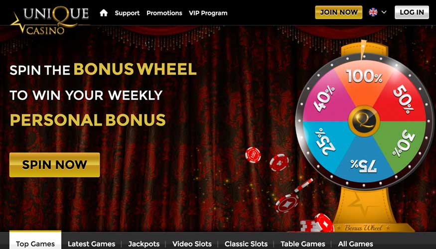 unique casino promotion